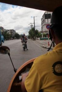 Tuk-Tuk, Vedado, Havana, Cuba